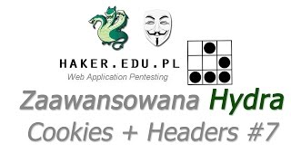#7 Zaawansowane testowanie haseł THC-Hydra... (Cookies+HTTP Headers)  | WEP
