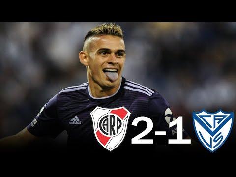 Velez 1 - 2 River Plate - Resumen completo - Superliga