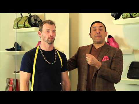 How to Measure a Man's Neck Size for a Necklace : Men's Fashion & Styling