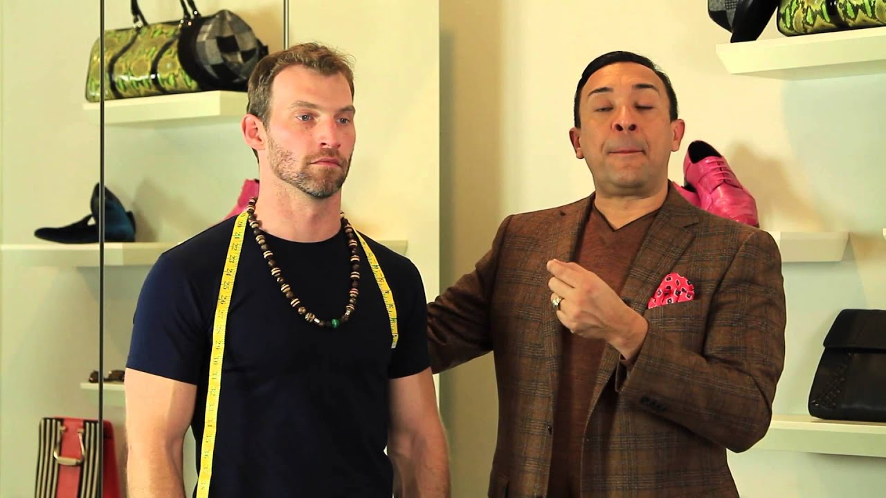 How To Measure A Man S Neck Size For A Necklace Men S Fashion Styling Youtube