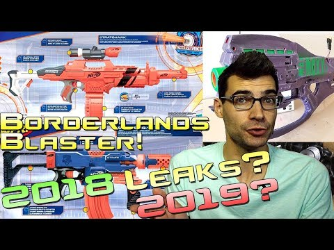 Nerf 2018/2019 Leaks?! Nerf As A Sport? Borderlands Blasters? This Week In Nerf News #46