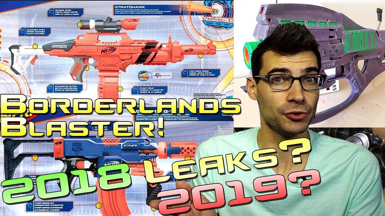 Nerf 2018 2019 Leaks As A Sport Borderlands Blasters This Katalog Water Blaster Week In News 46