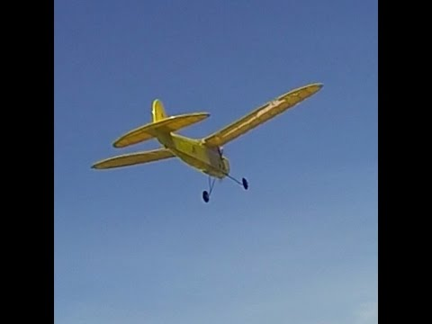 Berkeley Buccaneer C Special Old-Timer RC Plane Air to Air Video- Vintage R/C Plane