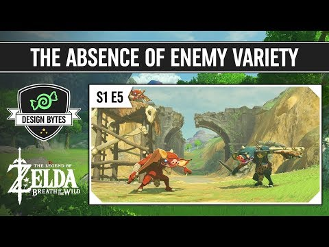 The Absence of Enemy Variety - The Legend of Zelda: Breath of the Wild | Design Bytes Season 1
