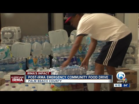 Post-Irma emergency community food drive continues