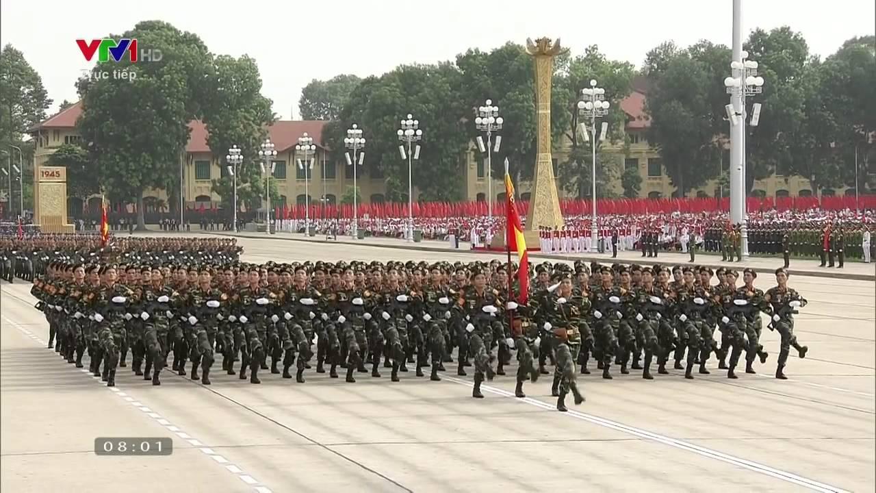 Lễ diễu binh kỷ niệm 70 năm Quốc khánh 2-9-2015 [Full – HD720p]