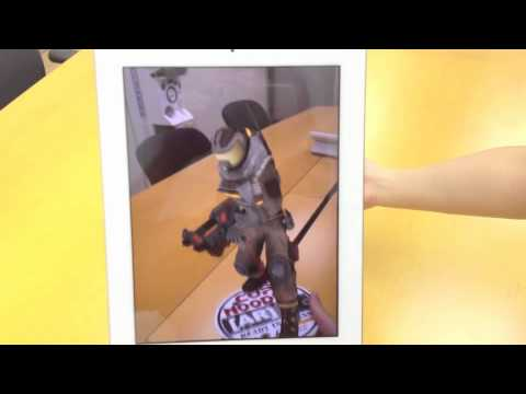 AR 3D Cup Noodle Packaging Demo - Augmented Reality Animation Display