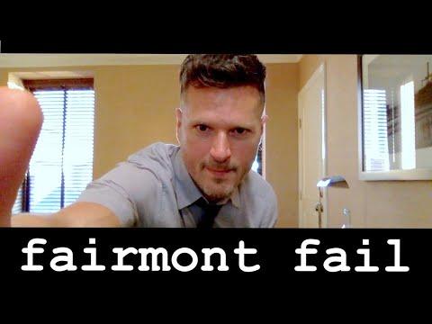 5 STAR FAIRMONT FAIL: Miramar Santa Monica