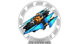 T10 Plasma Hover in Robocraft - Rapier II