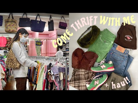 COME THRIFT WITH ME *ukay Tips + SPicY Haul*
