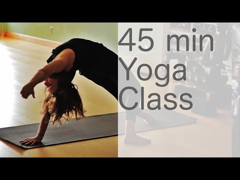 Yoga Body Workout: Free Yoga Class (Vinyasa Yoga 45 min Class) with Lesley Fightmaster