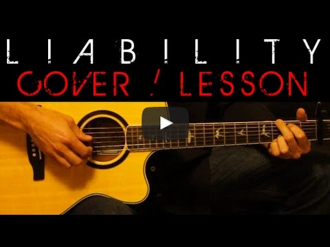 LIABILITY - Lorde Cover 🎸 Easy Acoustic Guitar Tutorial / Lesson + ...