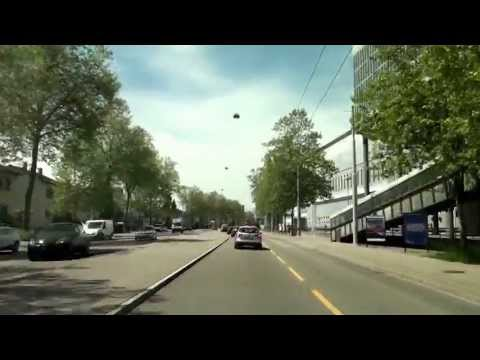 Driving around Zürich City and suburbs/ 05.2013/ FullHD
