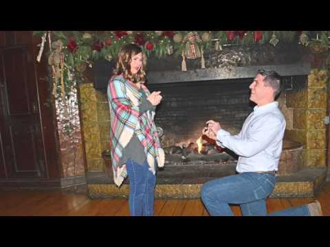 Starved Rock Surprise Proposal by Brandon to Casey