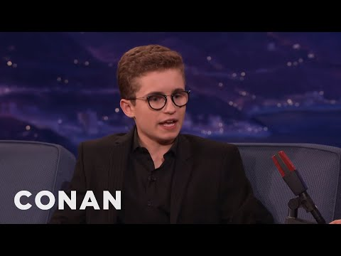 Sean Giambrone: Jeff Garlin Is A Madman   CONAN on TBS