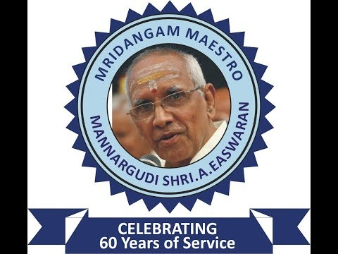 FULL VERSION VIDEO - Felicitation To Mannargudi Shri Easwaran - Part 1