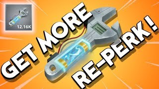 HOW TO GET MORE RE-PERK ! *FAST* | Fortnite Farming Reperk - A Save the World PVE Guide