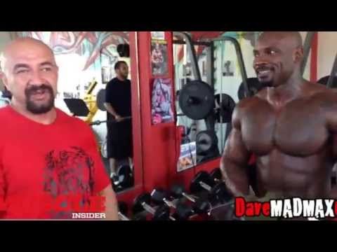 """West """"Mac Trucc"""" Boxley trains arms at 6PAX GYM, Sept 2014"""