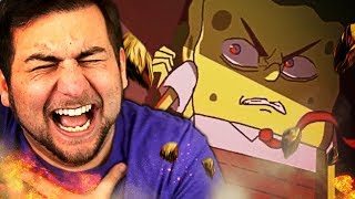 MOAR SPONGEBOB ANIME!! | Kaggy Reacts to The SpongeBob SquarePants Anime - OP 3 (Original Animation)