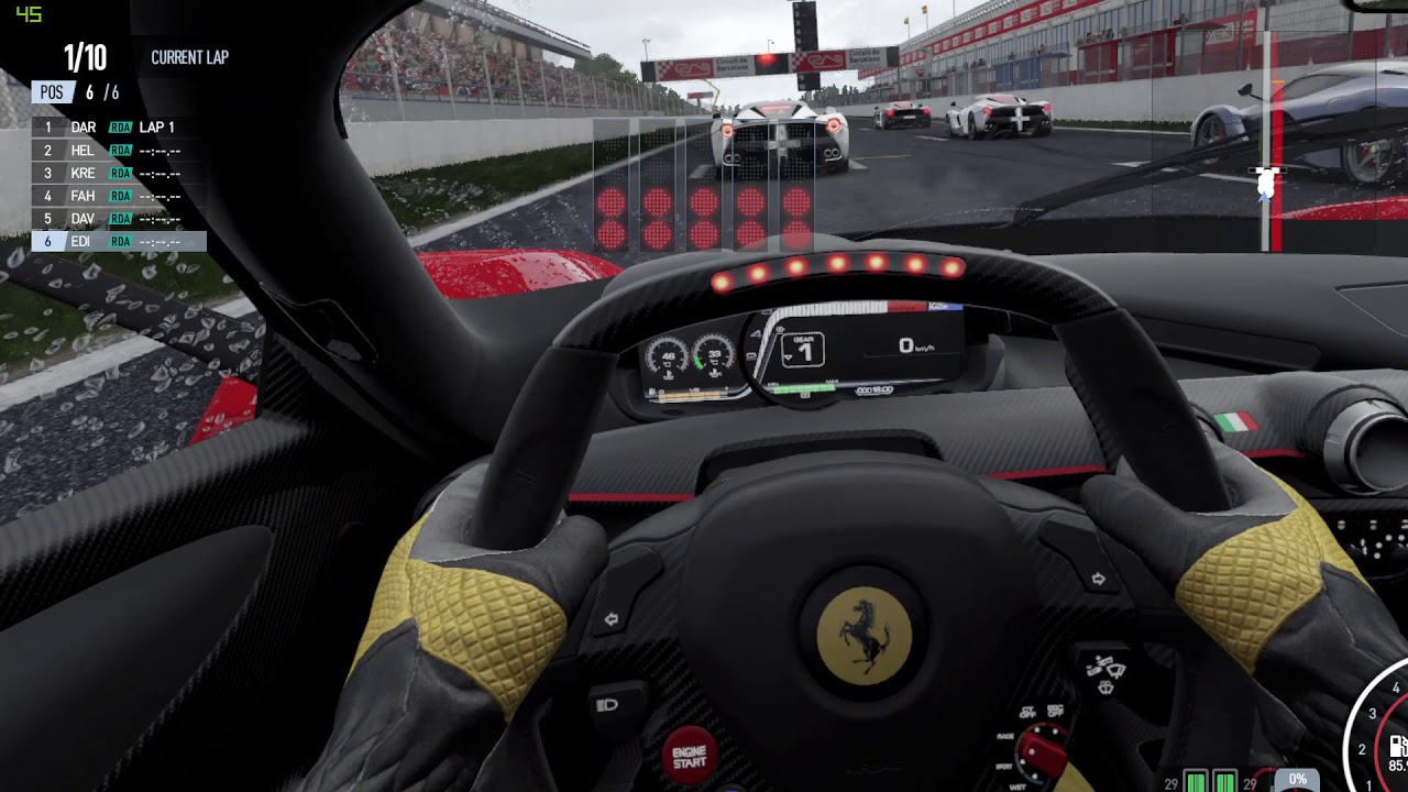 Project Cars Vr >> Project Cars 2 Htc Vive Vr Test