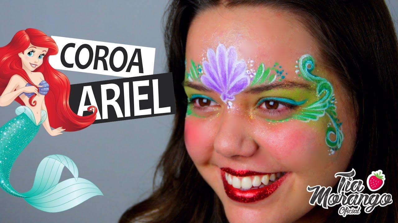 coroa princesa ariel youtube