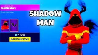 *NEW* CLOAKED SHADOW SKIN! (New Item Shop) Fortnite Battle Royale