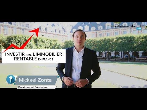 Investir dans l'immobilier rentable en France