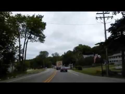 Wisconsin Highway 42 Into Ephraim WI