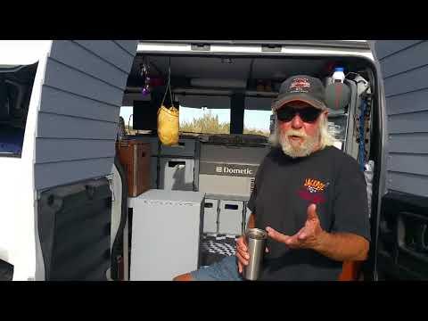 Terry's 2011 GMC van tour - Full time van life