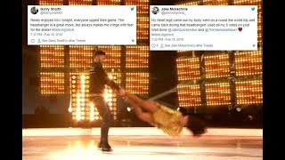 Jake Quickenden leaves Dancing on Ice fans 'cringing in fear' as he performs the