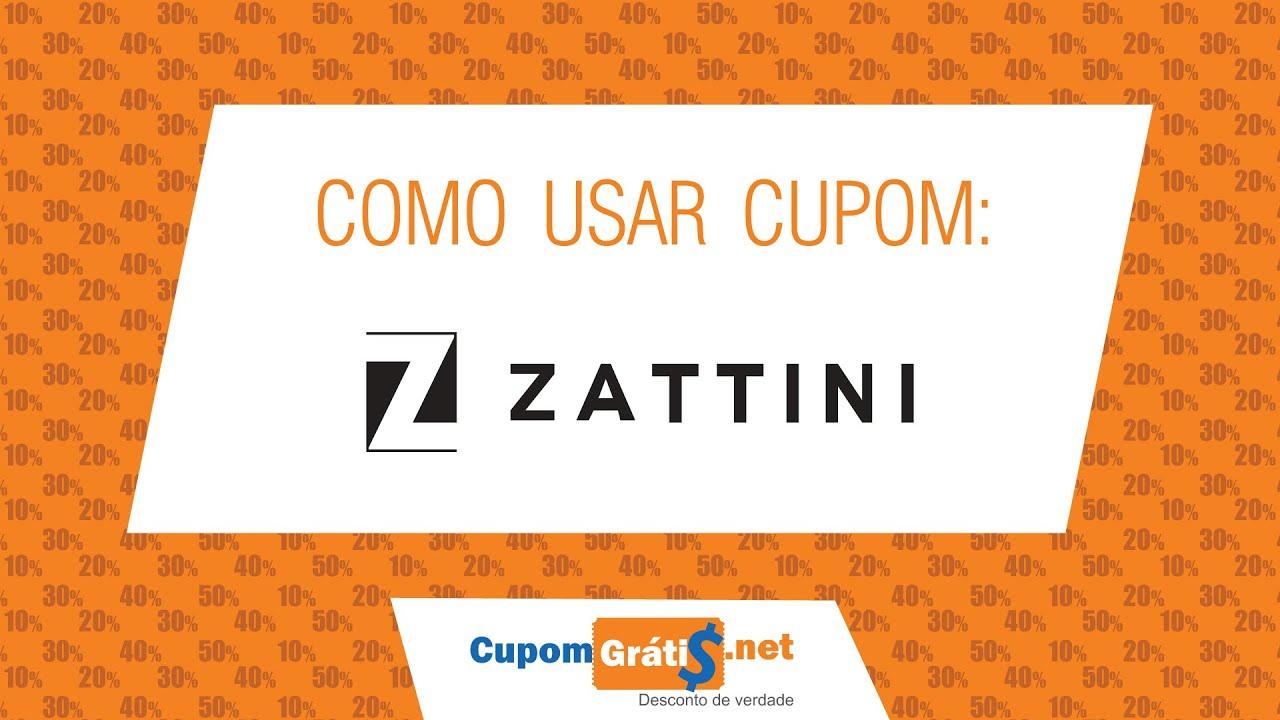 f8ace5528 Cupom de Desconto Zattini  Como Usar - Cupom Grátis - YouTube