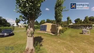 Visite du camping le Vallon aux Merlettes à Matignon