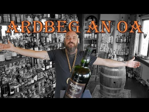 Whiskey Review - Ardbeg An Oa single malt scotch whisky  Ep: 241