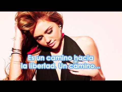 Miley Cyrus - Liberty Walk {español}