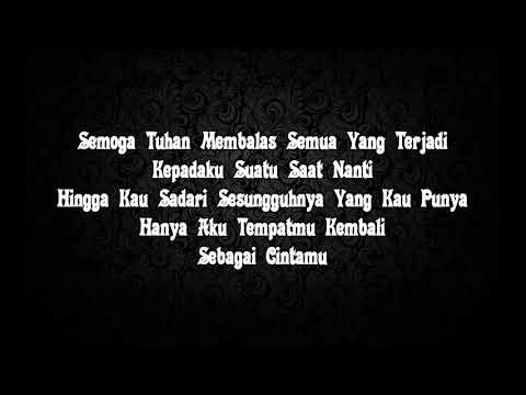 Afgan - Sadis (lirik)