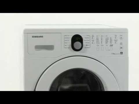 samsung wf8702rsw white 7kg 1200rpm washing machine youtube. Black Bedroom Furniture Sets. Home Design Ideas