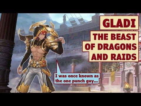 King's Raid - Gladi the Beast of Dragons and Raids Review