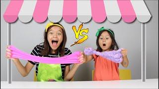VIVI E CHLOE BRINCAM DE LOJINHA DE SLIME (Pretend Play Slime Shop) !!