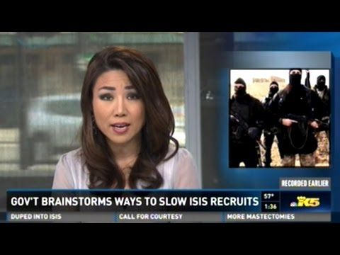 Obama Brainstorms How To Slow ISIS Recruitment!