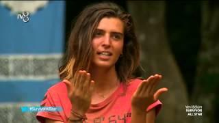 Merve Aydın Heyecandan Yerinde Duramadı - Survivor All Star (6.Sezon 89.Bölüm)