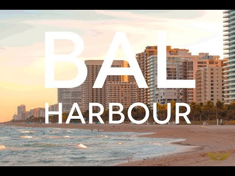 Bal Harbour, one of the most luxurious neighborhoods in Miami.