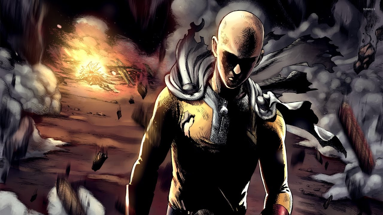 One punch man power levels youtube - Funny one punch man wallpaper ...