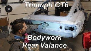 1972 Triumph GT6 Restoration - part 67 - Bodywork Rear Valance thumbnail