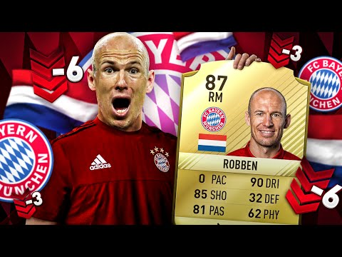 ARJEN ROBBEN PACE NERF THE DUTCH LEGEND GETS DOWNGRADED FIFA 17 RATING SQUAD! FIFA 16 ULTIMATE TEAM