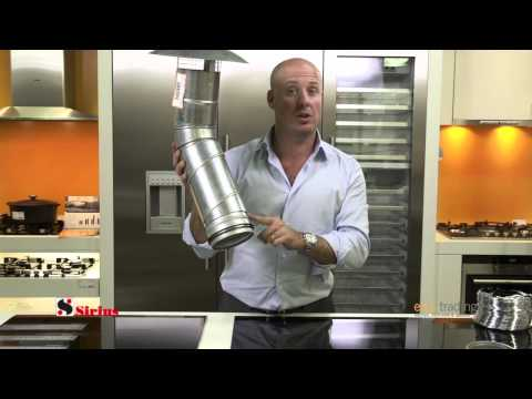 Features of the Sirius Rangehood Ducting System