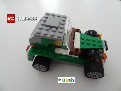 คู่มือสอนวิธีการต่อเลโก้รถแข่งครีเอเตอร์ แบบที่ 3 (สอนต่อเลโก้ วิดีโอแนะนำของเล่น)