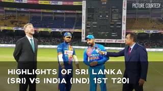 1st T20 Nidahas Trophy 2018: Highlights of Sri Lanka (SL) vs India (IND)