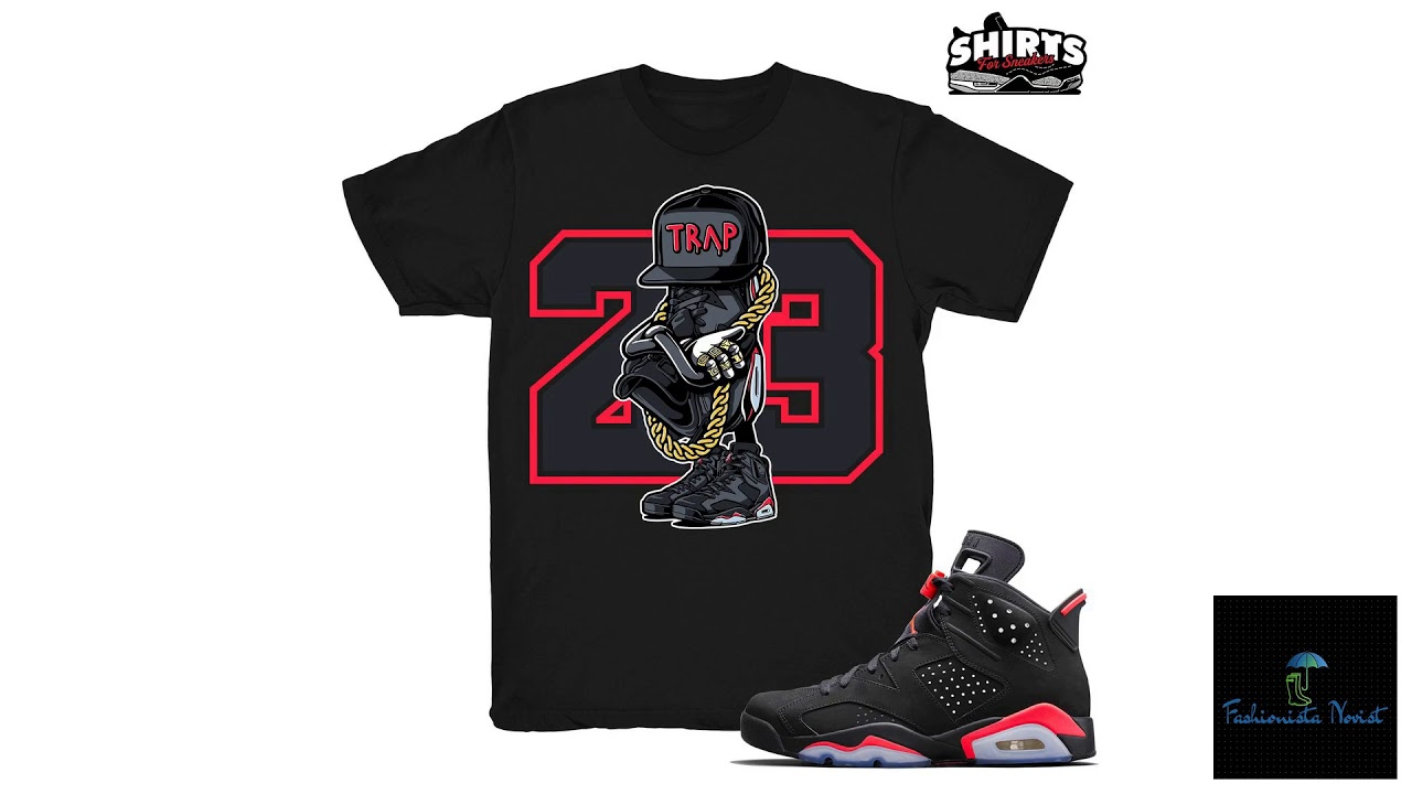519210a6e7aa8c Jordan 6 Black Infrared Shirt