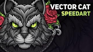 Vector Cat - Illustration (SpeedArt)