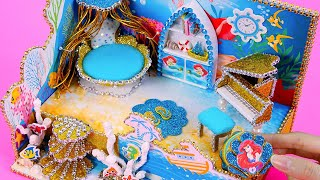 DIY Miniature Dollhouse Room ~ Ariel (Beauty and the Beast) Room Decor, Backpack #22